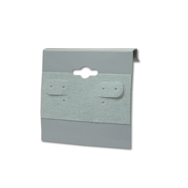Grey – 2″ x 2″ Earring Cards