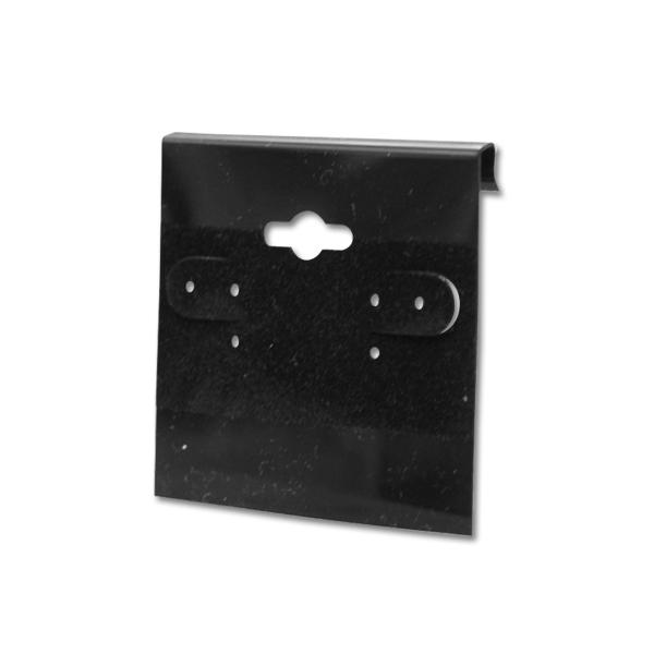 Black – 2″ x 2″ Earring Cards