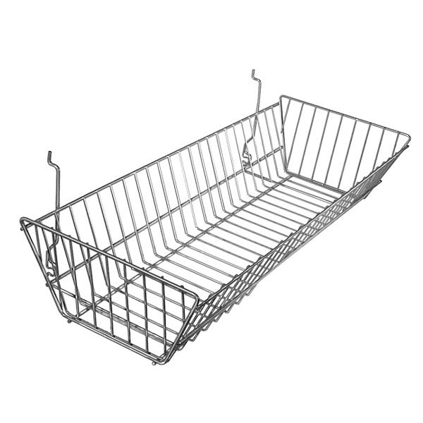 24″ Wide Sloping Basket