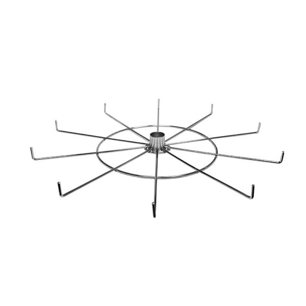 10 Hook, 18″ Spinner