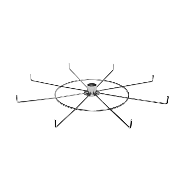 8 Hook, 18″ Spinner
