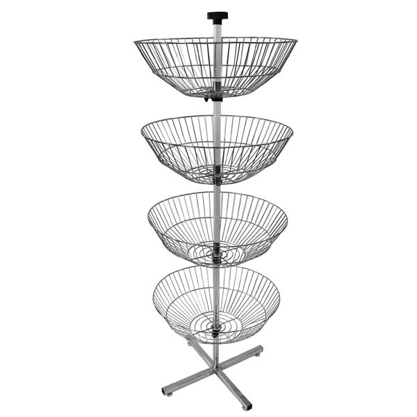 4 Basket P.O.P. Display