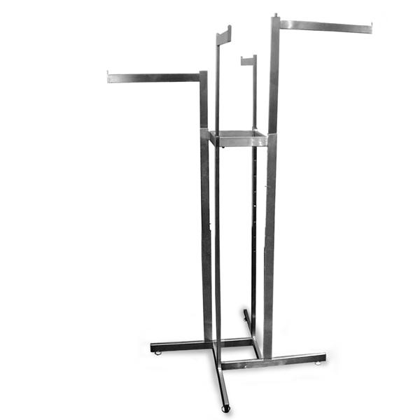 4 Way Adjustable Rack- 4 Straight Arms