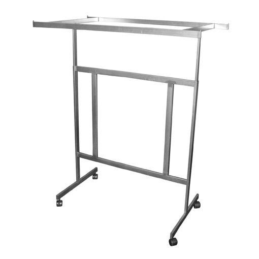 Raw Steel Double Adjustable Rectangular Rack