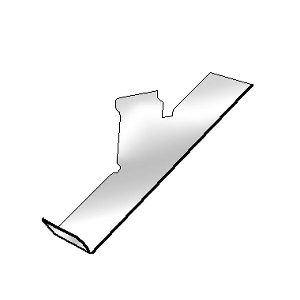 Slatwall Shoe Display- Left Profile
