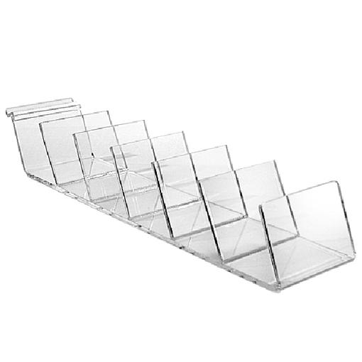 Slatwall Acrylic Clutch Display