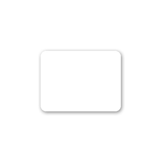 3/4″ x 1″ Rectangular Adhesive Tags
