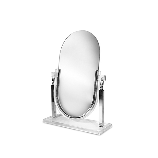Tilting Acrylic Framed Mirror