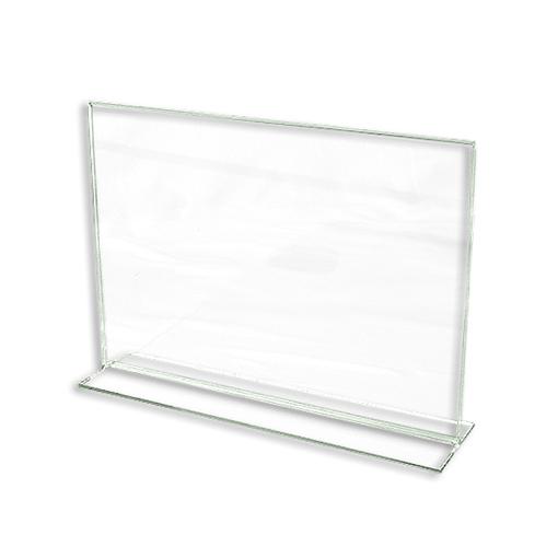 11″ x 8 1/2″ Bottom Loading Acrylic Cardholder