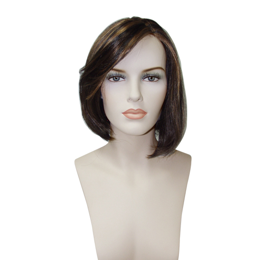 "Female Euro-Wigs ""Style 10"" Medium Brown"