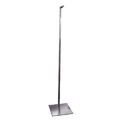 Brushed Metal Notched Hanging Adjustable Stand