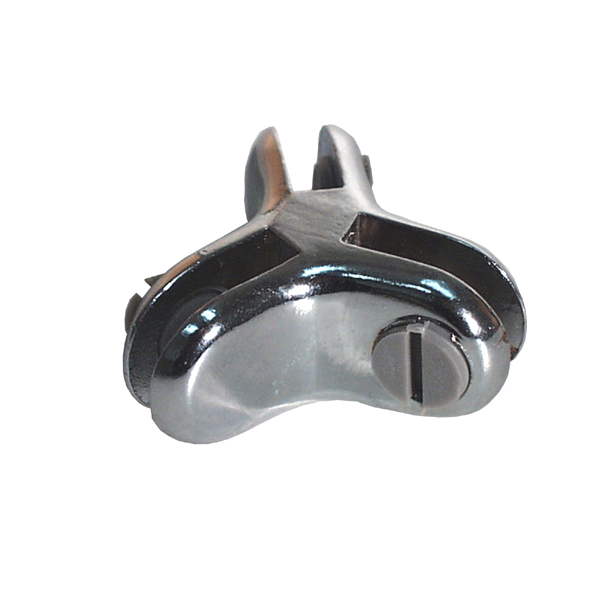 3 Way 120 Degrees Connector-Chrome