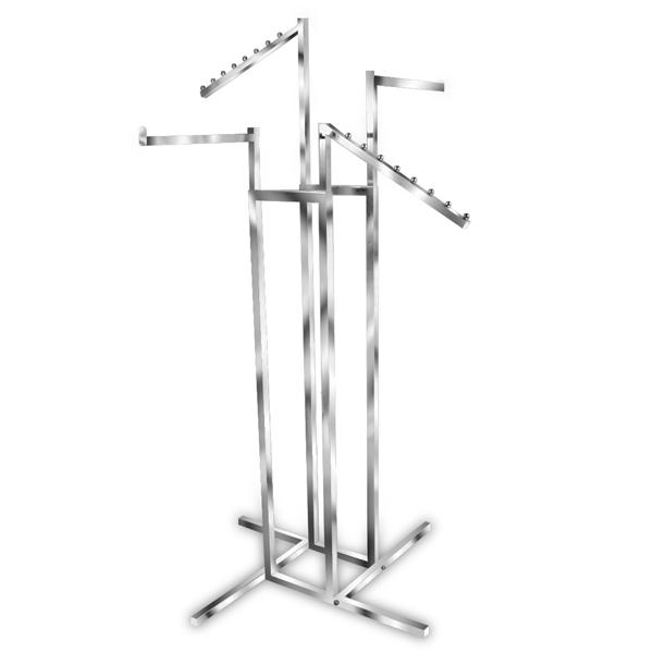 4 Way Adjustable Rack-2 Straight, 2 Slant Arms