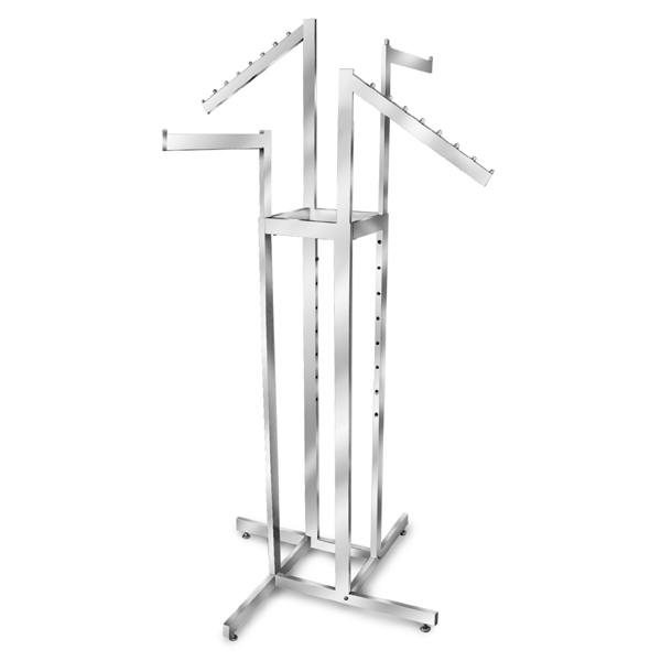 4 Way Adjustable Rack- 2 Slant, 2 Straight