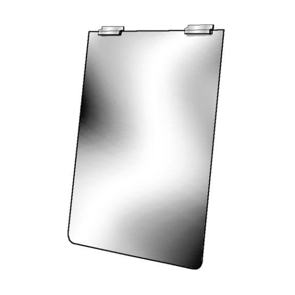 Slatwall Mirror