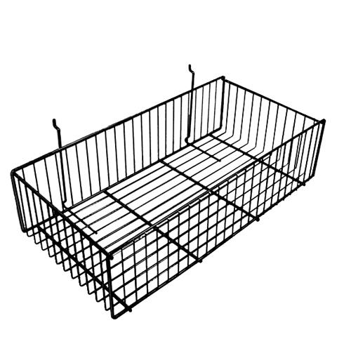 12″ Wide Slatwall Basket