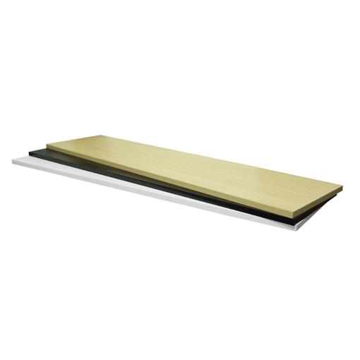 Wood Shelf For Slatwall Gondola Unit