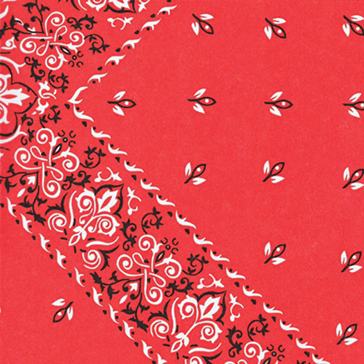 Red Bandana Tissue