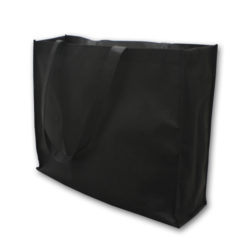 Black Non-Woven Shopping Bag 14″x18″x5″