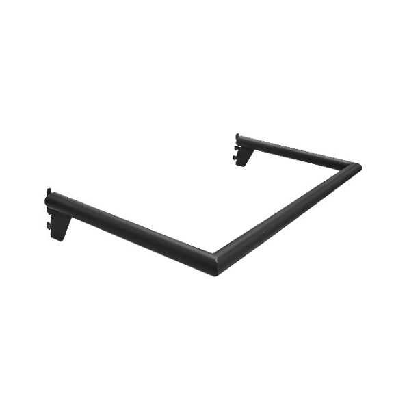 Matte Black U Shaped Pipe Hangrail
