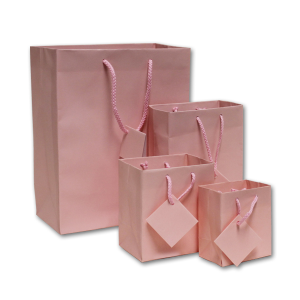 Matte Pink Jewelry Euro-Tote Bags