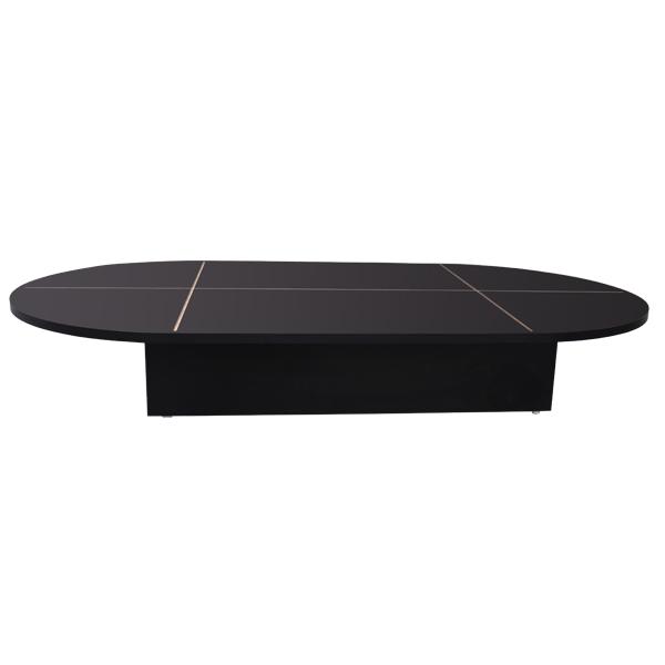 54″ Black Oval Base