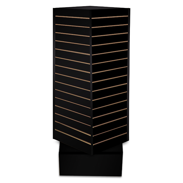 Revolving Slatwall Tower Display – Large