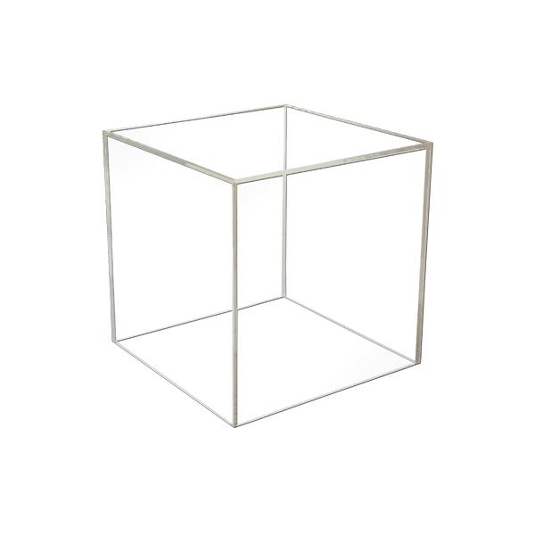 8″ – 5 Sided Acrylic Cube/Bin