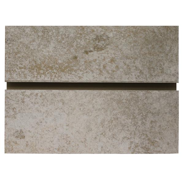 Bleached Concrete Slatwall