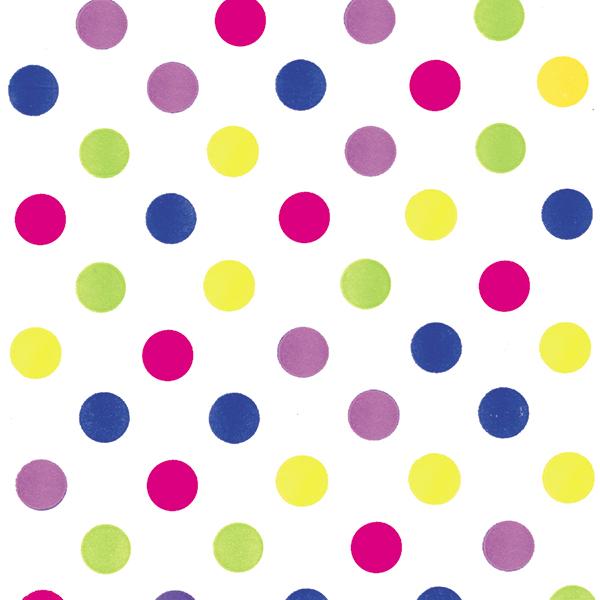 Bright Dots Tissue – 1/2″ Dots