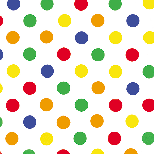 Primary Dots Tissue – 1/2″ Dots