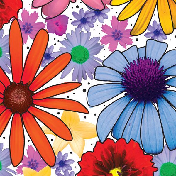 Summer Garden Tissue