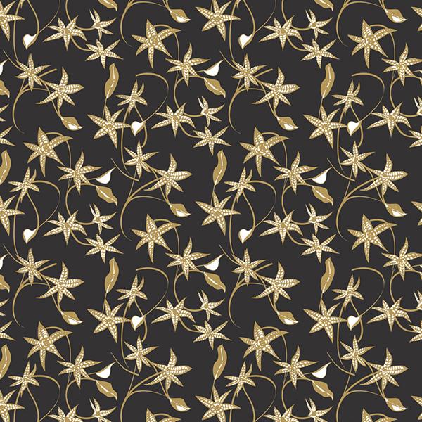 Jasmine Tissue – Black