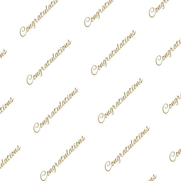 Congratulations – Gold Tissue
