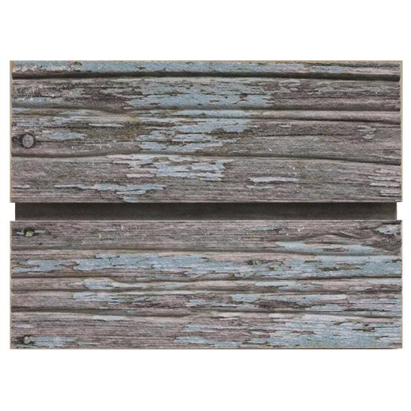 Blue Old Paint Slatwall