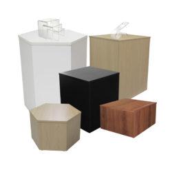 Cubes, Risers & Pedestals