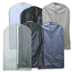 Canvas, Nylon & Vinyl Garment Bags