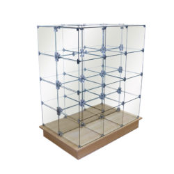 Glass Cube Displays