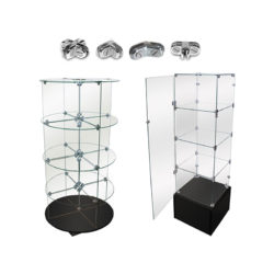 Glass Shelves & Binning