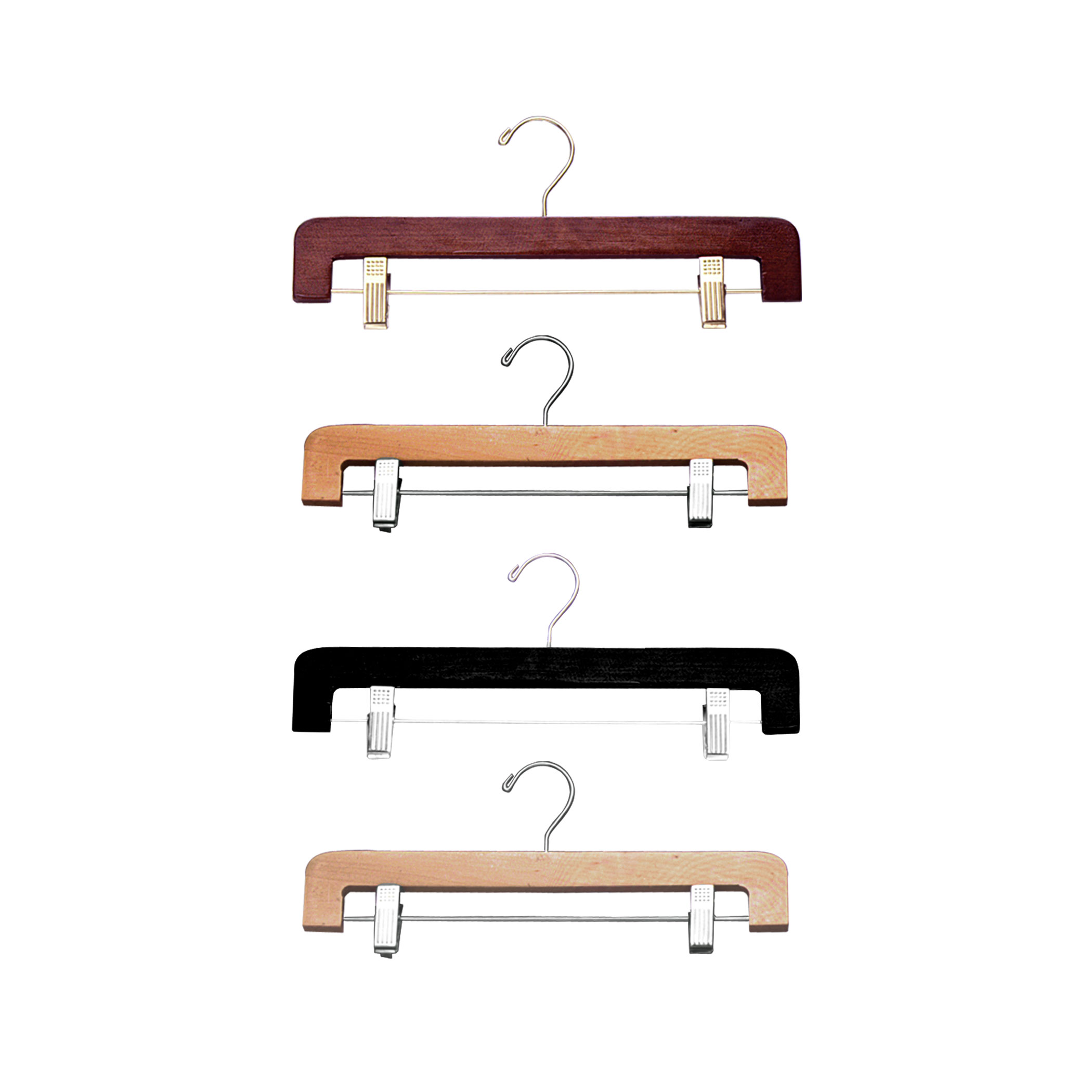 14″ Wood Pant & Skirt Hanger -H400 Series