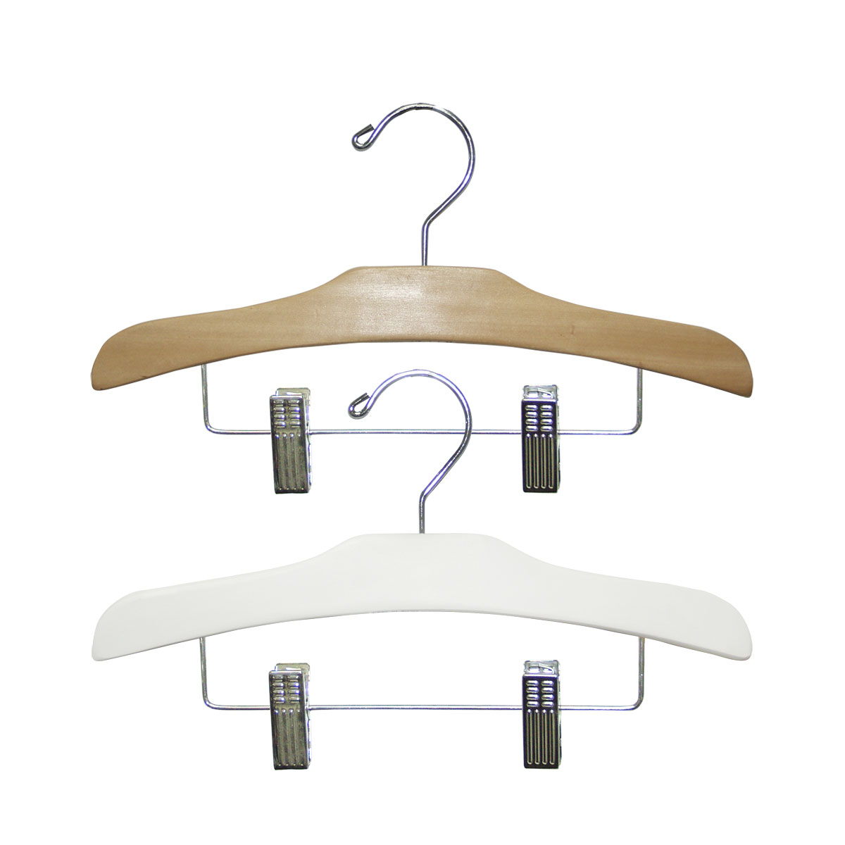 12″ Wood Children Pant & Skirt Hanger