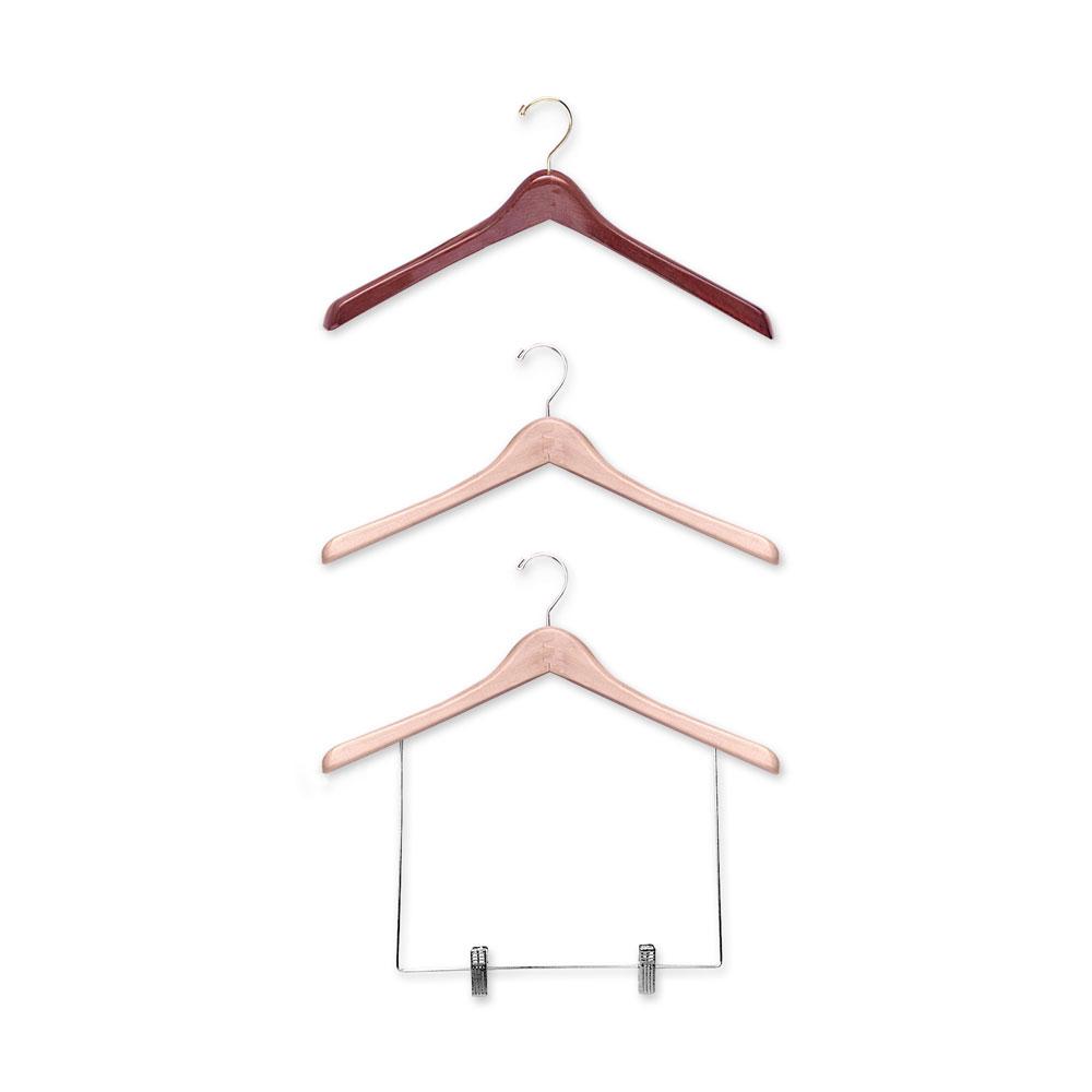 17″ Wood Coat Hanger-H800 Series