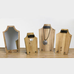 Wood Jewelry Displays