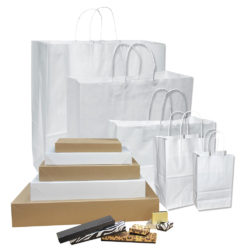 Bags, Boxes & Tissue Paper