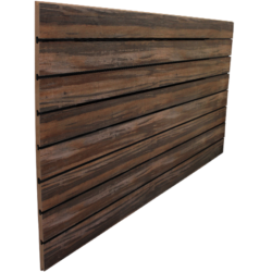 Multi Wood Grain Slatwall Panel