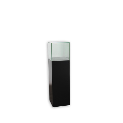 Frameless Pedestal Case – Small