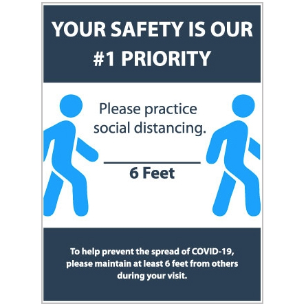 Your Safety 18″X24″ Sign